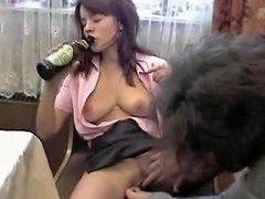 Drunk Girl Fucked Hard