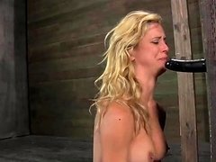 Milf In A Pretty Dress Stripped And Bound In The Dungeon Any Porn