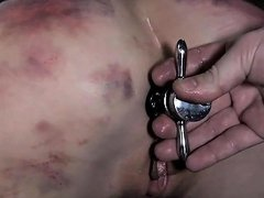 Chained Up Beauties Get Their Muff Screwed By Torturer Nuvid