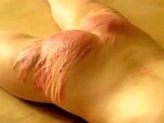 Amateur Russian Whipping Caning With The Crop Drtuber