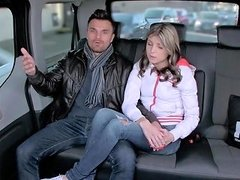 Fuckedintraffic Russian Teen Cheats With Cabbie In His
