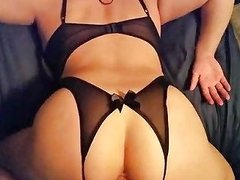 Girl In Crotchless Panties Fucked Free Porn 9c Xhamster