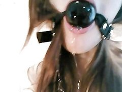 Gagged Heavily Drooling Teen Girl Tied Up Free Hd Porn 71