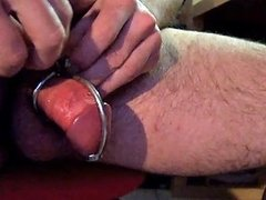 Inserting Dilator Chastity Device Chastity Gay Porn D5