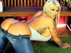 Candy Charms On A Bench On S66 Free Big Ass Porn Video A6
