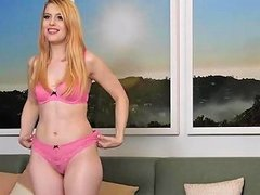 Creampie Filling For This Strawberry Blonde Calendar
