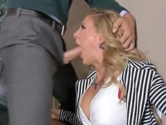 Blonde Milf In Stockings Gets Fucked On Desk Free Porn 9a