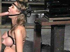 Deepthroat Training In A Deepthroat Blowjob Device Porn 99