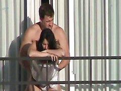 A Coach Fucks His Wife Out The Balcon Porn Ee Xhamster
