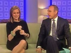 Meredith Vieira Upskirt On The T