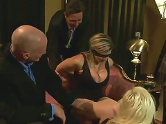 Sara Jay And Kait Snow In Bdsm Wife Swap Session