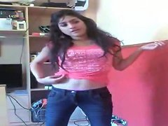 Mesmerizing And Cute Indian College Girl Stripteasing