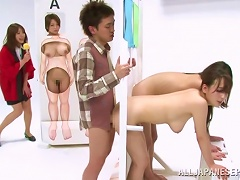 Japanese Hotties Take Part In A Show And Get Fucked