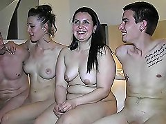 Two Amateur Couples Like The Idea Of Switching Partners So They Do Vporn Com