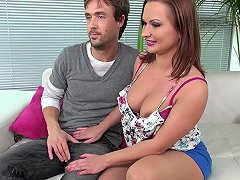 Arousing Katja Masturbates And Has Her Anus Stuffed With Cock