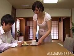 Horny Japanese Wife Enjoys Hardcore Pussy Licking Action
