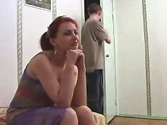 Russian Mature Mom And A Friend Of Her Son Amateur