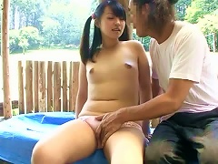 Naughty Japanese Teen Babe Pleases That
