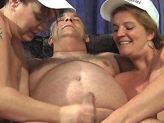 German Fat Milfs Threesome Part 2 Free Porn Fe Xhamster