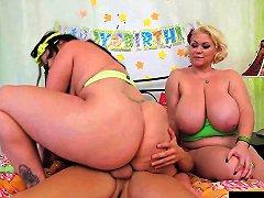 Angelina Castro Bbw Birthday 3way Treat Porn 4a Xhamster